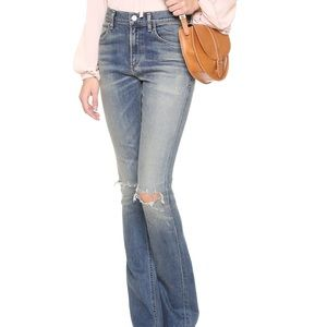 Citizens of Humanity Sasha Twist Low Flare Jean 24